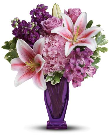 Blushing Violet Bouquet